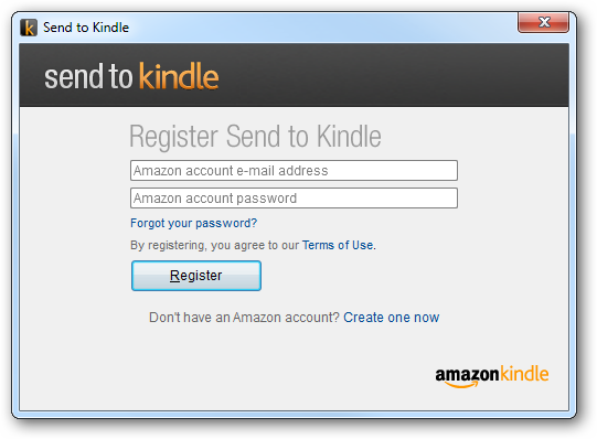 Login to Send to Kindle
