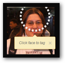 Finding a face to tag