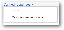 (9) creating new canned response
