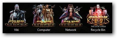Star Wars The old Republic Theme Icons