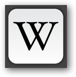 Wikipedia Android App icon
