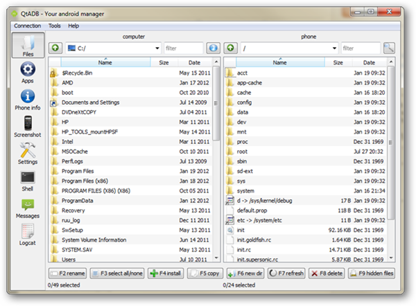qtadb-android-file-manager