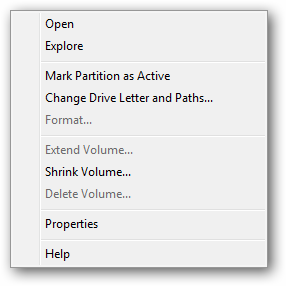 how to create partitions in external hard drive
