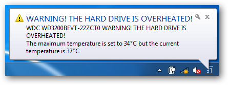 Monitor  puter Hard Drive Temprature on temp control