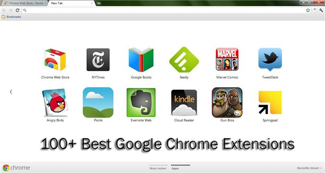 100+ Best Chrome Extensions & WebApps Listed By Category