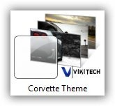 Corvette Windows 7 Theme
