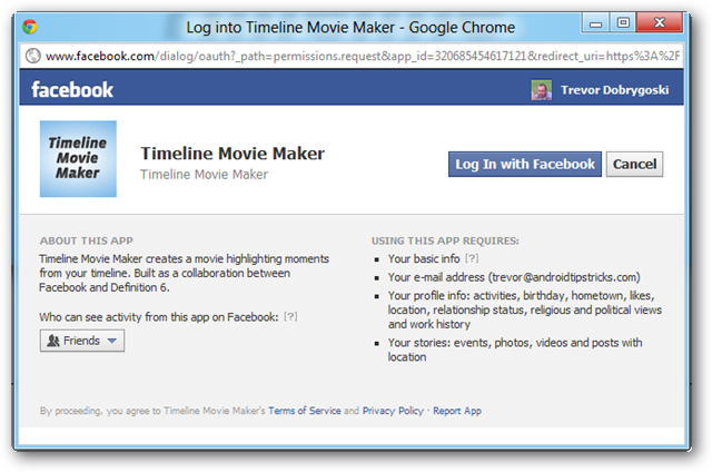 how to create a facebook movie