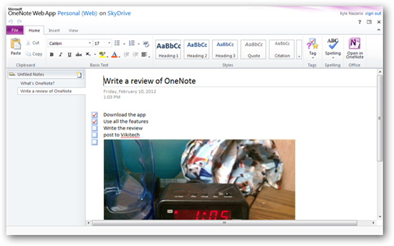 microsoft-onenote-review-note-web-app
