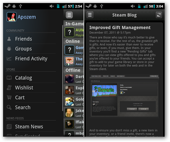 Steam Comes to Android & iOS - Let's You Chat, Buy Games