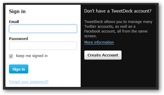 A Guide to Using Twitter and Facebook with TweetDeck