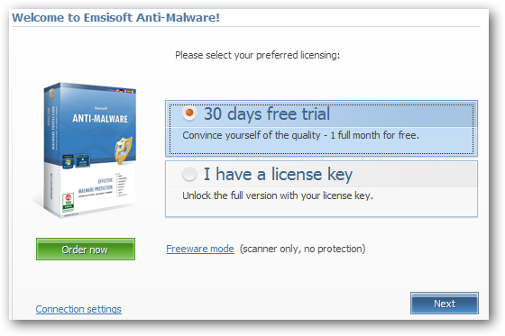 Welcome to Emsisoft Anti-Malware!
