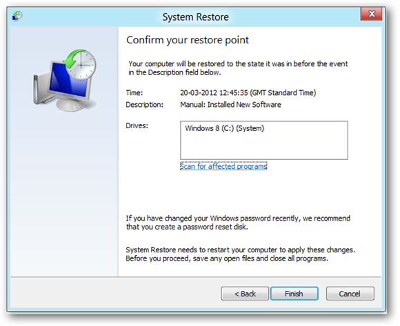 confirm-restore-point