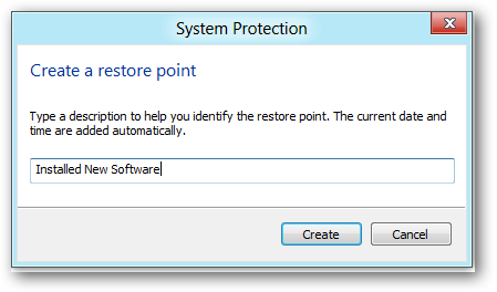 naming-restore-point