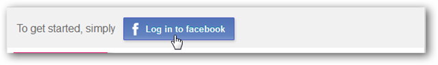 Visually Facebook Log in