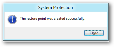 created-restore-point