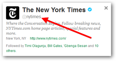 The New York Times Twitter