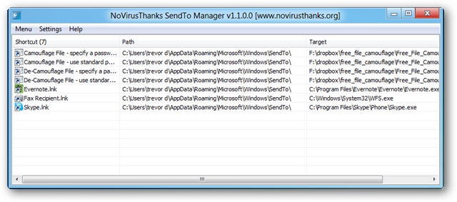 sendto-manager-lnk-files