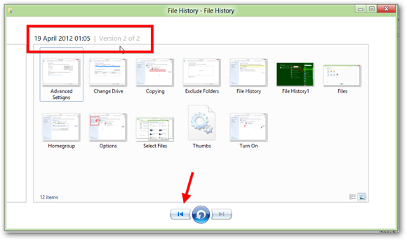 File-History-Multiple-Versions