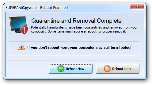 Reboot Required