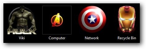 The Avengers Theme for Windows 7