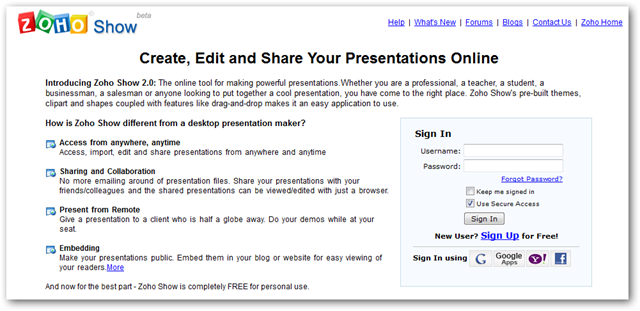 10 very useful online presentation tools to help you share slides