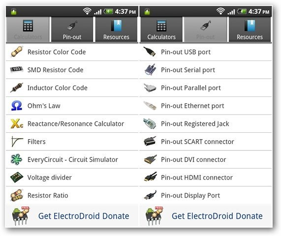 electrodroid-android-app