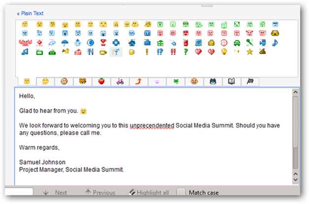 Extra Emoji  Feature of Gmail Labs