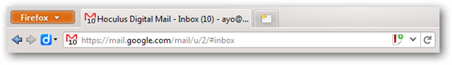 Unread Message Icon  Feature of Gmail Labs