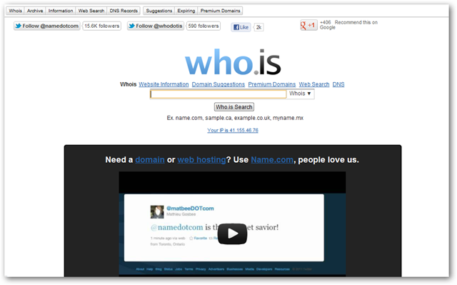 Who is Homepage