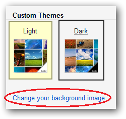 how to make your theme change pictures gmail