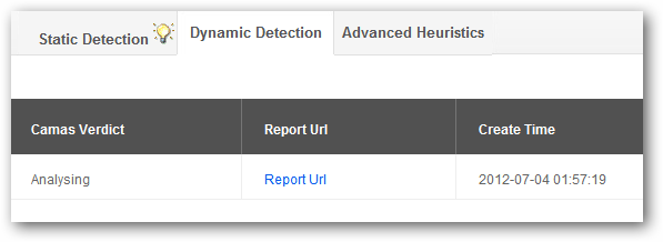 Dynamic Detection