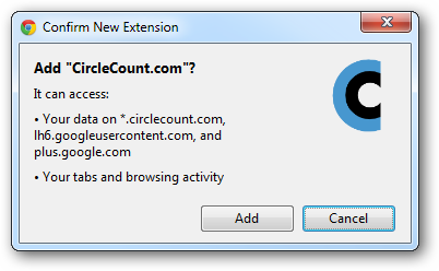 Confirm New Extension