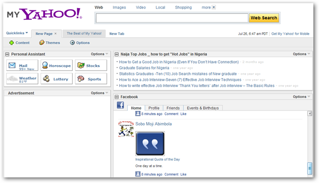using-my-yahoo