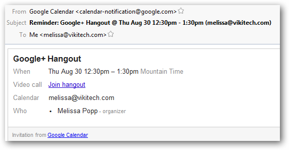 How to Schedule a Google+ Hangout via Google Calendar