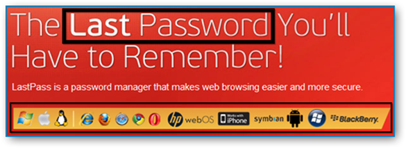 LastPass Works on Different Browsers and Devices