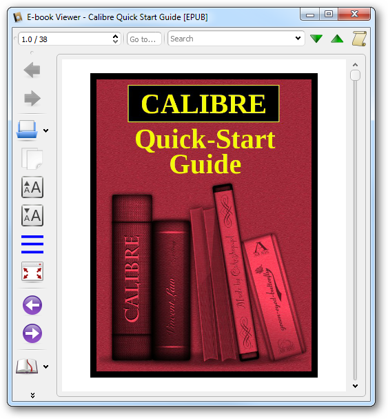 using-calibre's-ebook-viewer