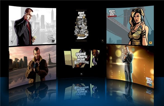 Grand Theft Auto (GTA) Theme for Windows 7