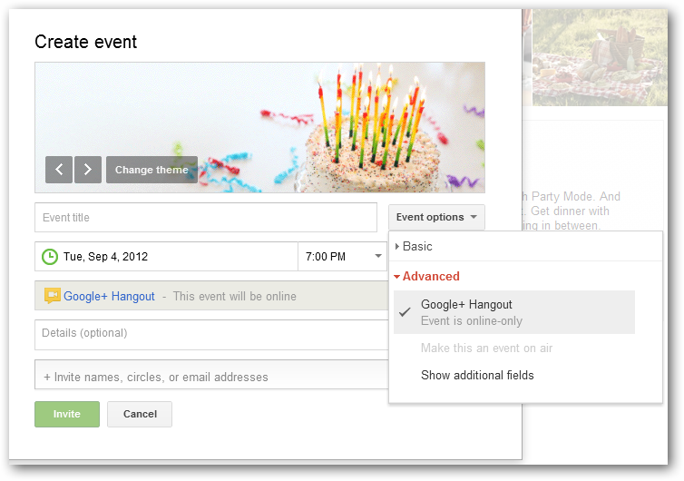 Google+ Events Lets You Invite Your Circles to Interact