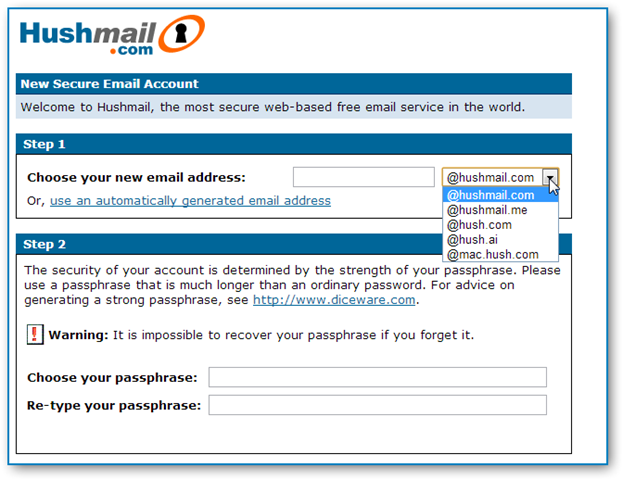 hushmail-free-email-service