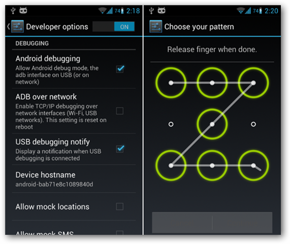 How To Break The Pattern Lock On Your Locked Android Phone