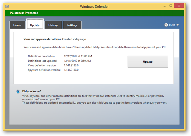 windows defender virus definition files