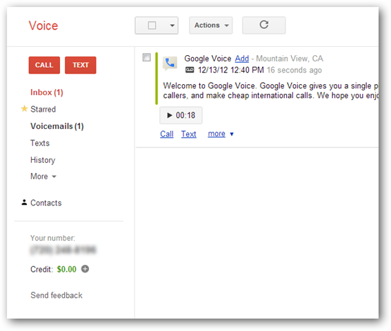 visiting-google-voice's-mainscreen