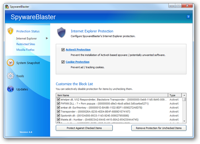 setting-up-ie-protection