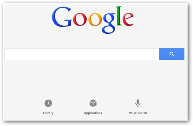 How To Use Google Search In Windows 8