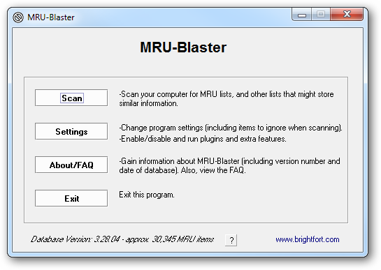using-mru-blaster-for-first-time