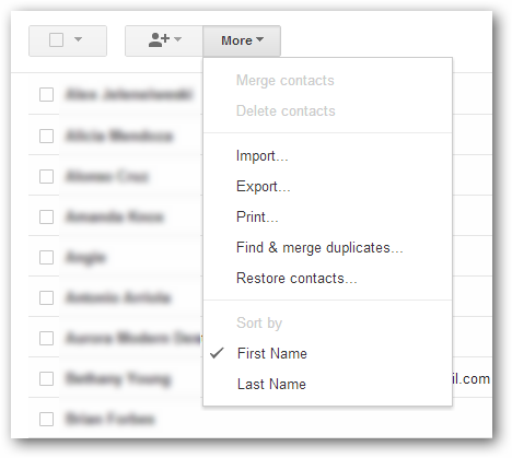 How to Import Your Contacts From Gmail to Thunderbird