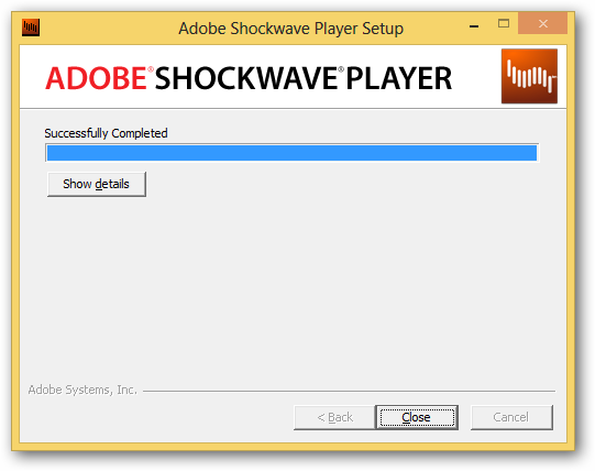 How to Install Adobe FlashPlayer and Shockwave in Windows 8