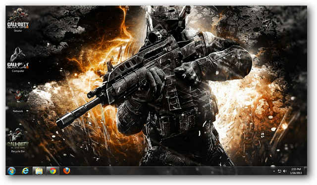 Call Of Duty Black Ops 2 Windows 7 Theme