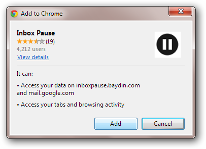 inbox-pause-install-plug-in