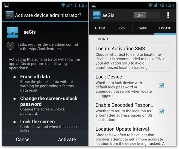 aegis-app-security-wipe-phone-administrator